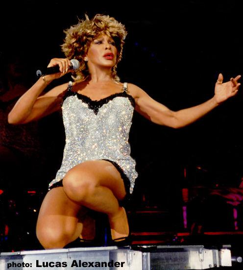 tina_turner_on_stage | Tina Turner.
